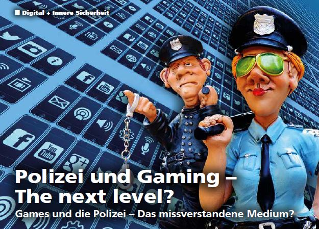 Polizei und Gaming – The next level?; Dr. Thomas-Gabriel Rüdiger - S. 26